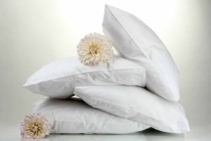 Cushion inserts with flowers