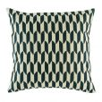 Alluring dark grey checked pattern on cushion cover