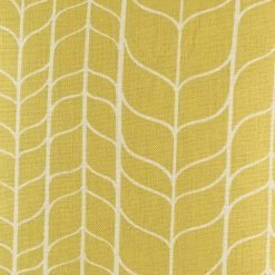 Close up of gold geometric pattern cushion cover