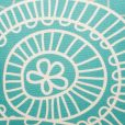 Dakota Teal Cushion Cover Close Up SC37