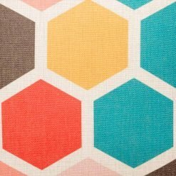 Marley Hex Cushion Cover Close Up SC118