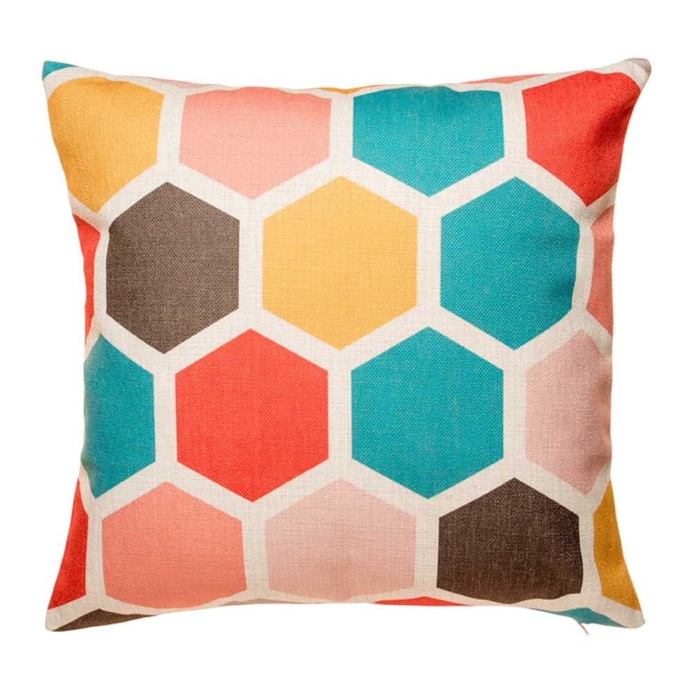 Buy Marley Hex Cushion Cover 45cm Online Simply Cushions