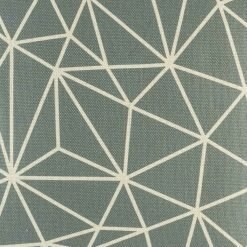 Close up of grey cushion cover with modern design