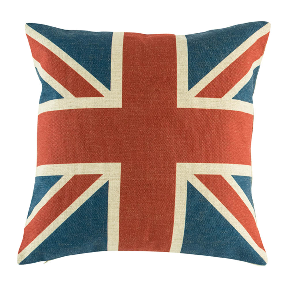 Knitting Pattern Union Jack Cushion Cover : Union Jack Cushion Cover Simply Cushions