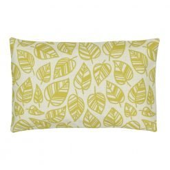 Rectangular Cushion Cover 30x50cm With Leaf Pattern