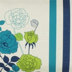 Closeup Image of a Floral Rectangular Cushion Cover 30x50cm