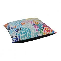 Large 70x70cm colourful floor velvet cushion cover