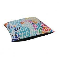 Large 70x70cm colourful floor velvet cushion cover