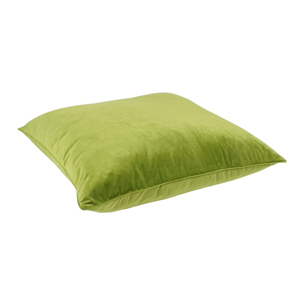 Green Floor Pillows : Buy Green Velvet Floor Cushion Cover Online Simply Cushions