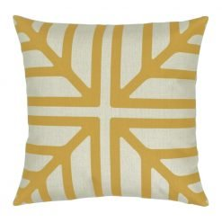 Colour Gold Square Cushion Cover 45x45cm