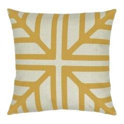 Colour Gold Square Cushion Cover 45x45cm