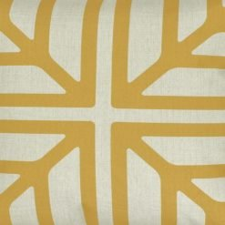 Closeup Image of Colour Gold Square Cushion Cover 45x45cm