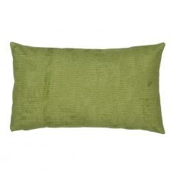 30x50cm rectangular cushion cotton linen cover in green colour