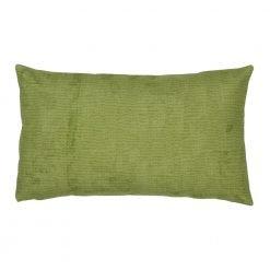 30x50cm rectangular cushion cotton linen cover in green colour