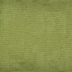Close up of green rectangular cotton linen cushion cover