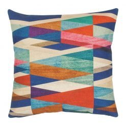 Square Multi Colour Vivid Cushion Cover 45x45cm