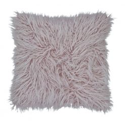 45cm x 45cm Square Fur Purple Cushion cover