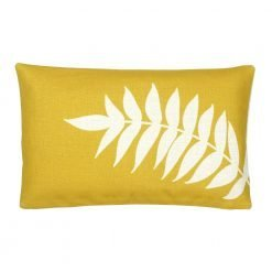 Yellow Rectangular Cushion Cover 30x50cm