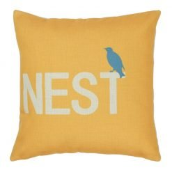 Square Sparrows Nest Cushion Cover 45x45cm