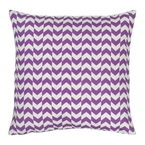 Violet Square Cushion Cover 45x45cm