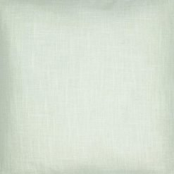Close-up image of polyester cream cushion cover