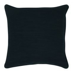 Photo of 45x45cm dark grey cushion cover made of velvet fabric