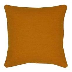 Orange cushion cover in 45x45cm size