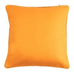 Orange cushion cover in 45x45cm size