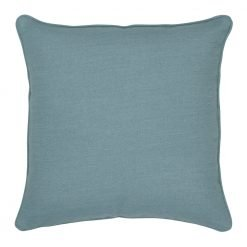 45x45cm cushion cover in sky blue colour