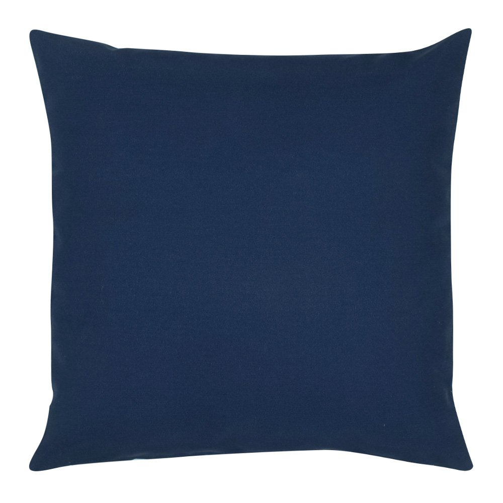 Buy bently navy outdoor cushion cover online simply cushions for Outdoor cushion covers