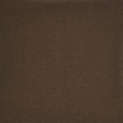 Close-up image of chestnut cushion cover in polyester fabric