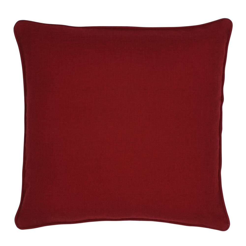 Homely Microfiber 5-Piece Cushion (White, 12x12-inch)