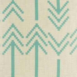 Bartlow Teal Cushion Cover