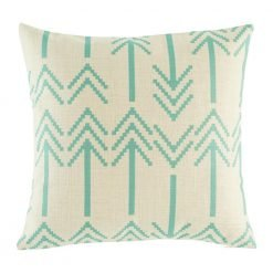 Bartlow Teal Cushion Cover
