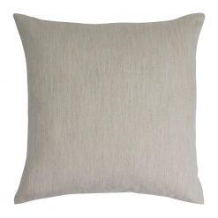 "Cushion cover Plain off white cream 100/% cotton zipped 15/"" X 15/"" FREE p/&p"